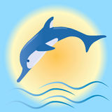 Delfín Fotografía de archivo libre de regalías