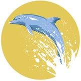 Delfín Stock de ilustración