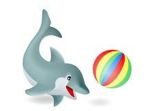 Delfín adorable Foto de archivo
