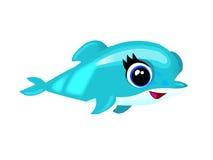 Delfín del bebé Fotos de archivo libres de regalías