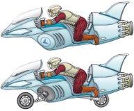 Delfín del vuelo ilustración del vector