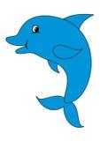 Delfín lindo stock de ilustración
