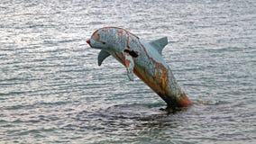 Delfín oxidado foto de archivo libre de regalías