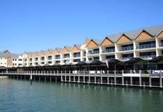 Delfín Quay Imagen de archivo libre de regalías