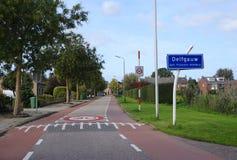 Delfgauw, the Netherlands. Delfgauw village, Pijnacker Nootdorp municipality, South Holland province, the Netherlands stock photography