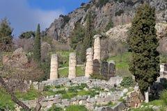 Delfi, Grecia fotografia stock libera da diritti
