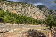 Delfi Grecia Fotografia Stock
