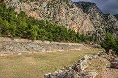 Delfi Grecia Fotografie Stock