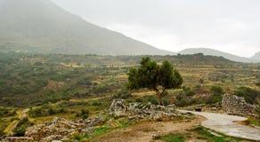 Delfi krajobraz. Obrazy Stock