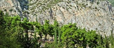 Delfi krajobraz. Fotografia Stock