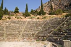 Delfi. Teatro Immagini Stock