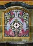 Delfin belägger med tegel panelen Royaltyfri Fotografi