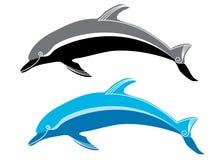 delfiner Royaltyfria Foton