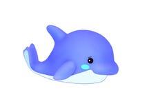 Delfino blu Immagine Stock