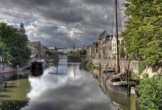 delfshaven Голландия стоковое изображение