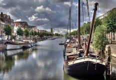 delfshaven Голландия Стоковые Изображения