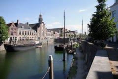 Delfshaven, Роттердам Стоковые Изображения RF