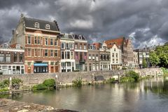 Delfshaven, Holland stock afbeeldingen