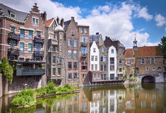 Delfshaven in Rotterdam Royalty Free Stock Images