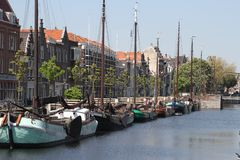 Delfshaven, Rotterdam Royalty Free Stock Photo