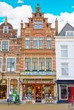 Delft alloggia l'architettura Fotografia Stock Libera da Diritti