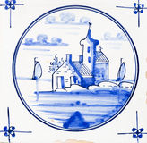 Delft Blue Royalty Free Stock Photo