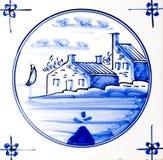 Delft Blue Royalty Free Stock Photo