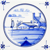 Delft Blue Stock Photo