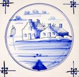 Delft Blue Stock Photo