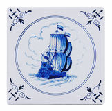 delft blue tile Stock Photos