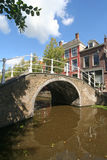 Delft-Brücke Lizenzfreies Stockfoto