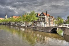 Delft Canal Stock Photos