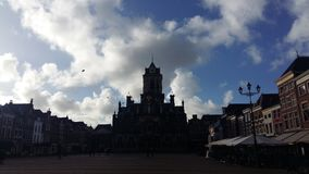 Delft centraal. Square Stock Photo