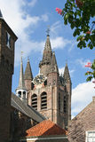 Delft Church Tower Stock Photo