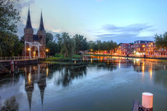 Delft, die Niederlande Stockfotografie