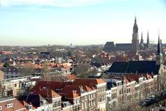 Delft donnent sur Images stock
