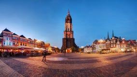 Delft at dusk. Stock Photo