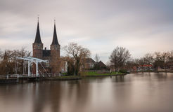 Delft east portal Stock Photography