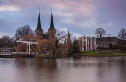 Delft east portal Royalty Free Stock Photography