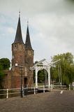 Delft eastern gate Stock Photo