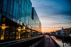 Delft-Hauptbahnhof die Niederlande lizenzfreies stockbild