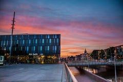 Delft-Hauptbahnhof die Niederlande lizenzfreie stockbilder