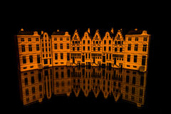Delft house Stock Photography