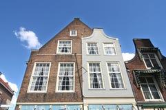 Delft Houses Stock Photos