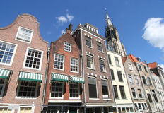 Delft Houses Royalty Free Stock Image