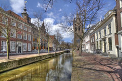 Delft Houses royalty free stock photography