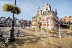 Delft miasto w Netherland Obraz Royalty Free