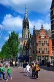 delft Nederländerna Royaltyfria Foton