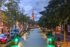 delft Nederländerna Royaltyfria Bilder