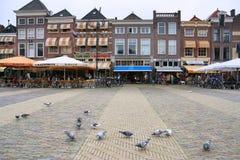 delft Nederländerna Arkivfoto